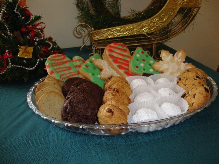 christmas tray 2011 $30