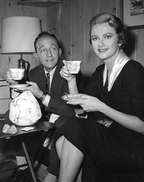 Bing n Mary Fickett 1957