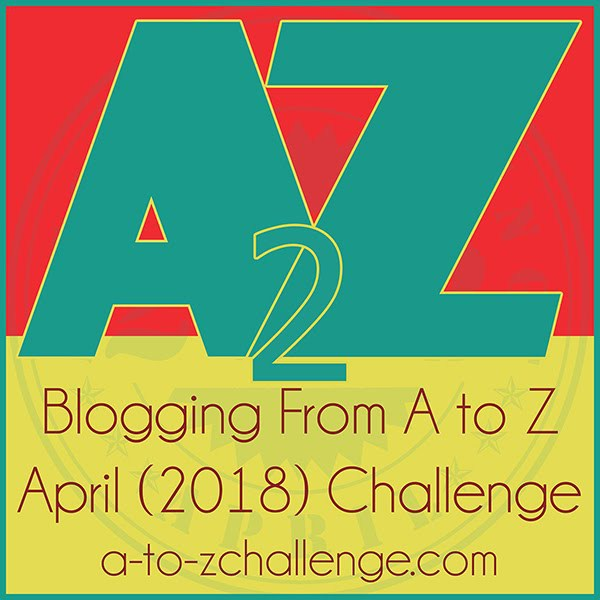 a to z challenge for april 2018