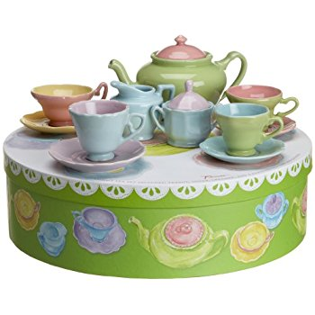 Hat box teaset